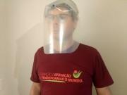 Unesc desenvolve protetor facial para trabalhadores de saúde