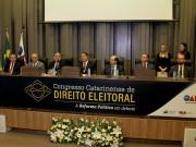 Congresso de Direito Eleitoral teve início nesta segunda (30)