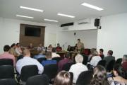 Audiência com o Comandante-Geral da PM-SC é transferida