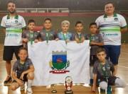 Morro da Fumaça conquista o campeonato regional da LUD Sub-9