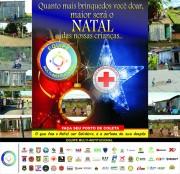 Equipe Multi-Institucional realiza campanha Natal + Solidário