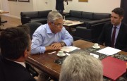 OAB Criciúma participa de audiência com o governador