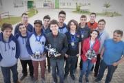 IFSC fatura o tricampeonato estadual na Olimpíada de Robótica