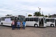 Siderópolis adquire três ônibus para o transporte escolar
