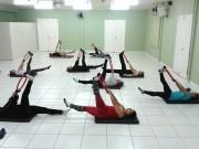 Aula de pilates é uma das novidades da Escola de Talentos Satc em 2019
