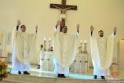 Três novos padres são ordenados no Santuário Sagrado Coração de Jesus