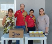 Lions Club promove campanha para transformar óleo em sabão