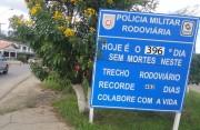 Rodovia SC-445 completa  396 dias sem mortes