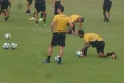 Preparação para o confronto da Copa do Brasil