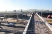 Última passarela, recebe trabalhos finais de concretagem