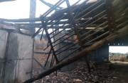 Produção parcial de fumo é destruída em incêndio