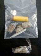 Jovem é preso por tráfico de drogas em Presidente Vargas