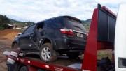 PM recupera veículo de Içara que estava com dois jovens em Tubarão