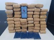 Polícia Militar apreende mais de 60kg de maconha no Maria Céu