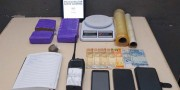 Feminina é detida por tráfico de drogas no Liri pela Polícia Militar de Içara