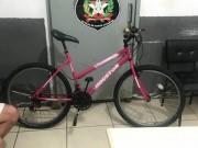 Ladrão de bicicleta é detido pela Polícia Militar de Içara no Bairro Marili