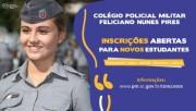 PMSC abre as inscrições para ingresso nos Colégios Policiais Militares do estado