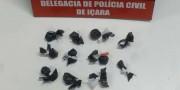 Polícia Civil prende jovem por tráfico no Bairro Jaqueline em Içara