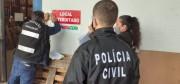 Polícia Civil e Procon interditam fábricas de álcool gel com irregularidades no Estado