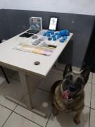 PM prende três pessoas por tráfico de drogas em Balneário Rincão