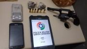 Acusado por estupro é detido com drogas e arma de fogo em Içara