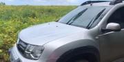 Veículo roubado no Centro é localizado em plantação no Bairro Santa Cruz