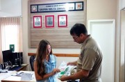 Jovem com sonho de ser policial visita Guarnição Especial de Içara