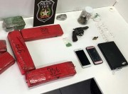 Polícia Civil apreende 5,6kg de drogas em apartamento no bairro Raichaski