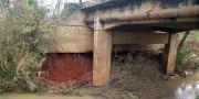 Cabeceira de ponte entre Barracão e Sanga Funda precisará de reparo