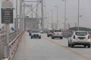 Ponte Hercílio Luz volta a receber tráfego de carros de passeio depois de 38 anos