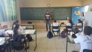 FME de Siderópolis visita escolas para divulgar início dos projetos sociais