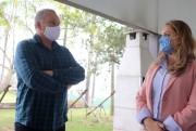 Se eleita Dalvania Cardoso promete adquirir usina de asfalto para Içara