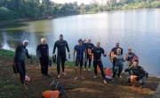 A satisfação de nadar em locais pouco explorados em Rio Grande do Sul
