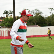 Esporte Clube Próspera realiza jogo-treino contra o Grêmio no Estádio Mário Balsini