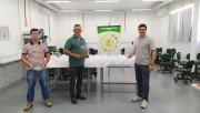 Unesc entrega 300 protetores faciais aos colaboradores do Hospital São José