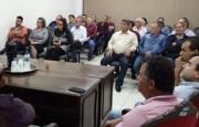 Lideranças querem audiência com Moreira
