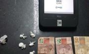 Jovem é detido por tráfico de drogas em Içara