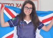 Kathiê sobe uma posição em ranking nacional de xadrez