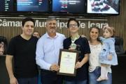 Moções pela conquista no Prêmio Acic de Matemática