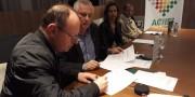 Sandro Serafin assina pauta empresarial de Içara
