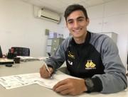 Lateral Enzo renova contrato com o Criciúma E.C.