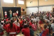 Abuso infantil é discutido em apresentação de teatro em Içara