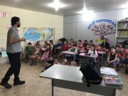 Palestra sobre higiene é realizada em escolas de Jacinto Machado
