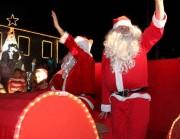 Tradicional chegada do Papai Noel no Unibave é nesta sexta-feira