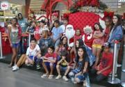Crianças passam a tarde no Criciúma Shopping