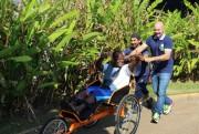 Projeto de incentivo de Içara garante cinco triciclos a projeto de inclusão