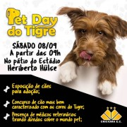 Pet Day e Berçário do tigre