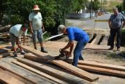 Prefeitura restaura ponte no bairro Maccari em Morro da Fumaça