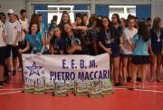 Campeões dos Jogos Escolares recebem premiação em MF