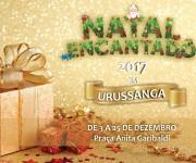 Abertura do Natal Encantado em Urussanga ocorrerá neste domingo